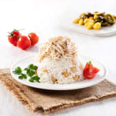 Tavuklu Pilav (500 Gr.) (Sıcak)