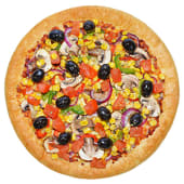 Pizza veggie lovers