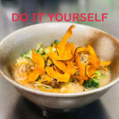 Miso yasai do it yourself 野菜ラーメン