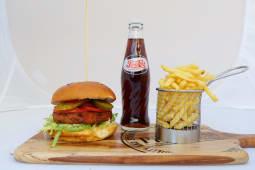 Meal Deal Vegetarian Burger