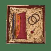 Kitenge Red Gift Box