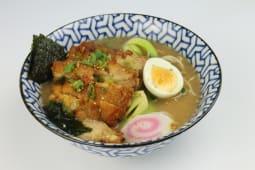 Miso ramen con pollo