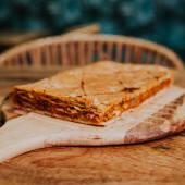 Empanada carne Ternera con verduras1 kg al corte ( 6 Raciones)