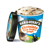 Tarrina de helado de vainilla con cookies (465 ml.)