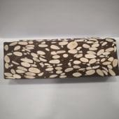 Turrón de chocolate con almendras (400g)