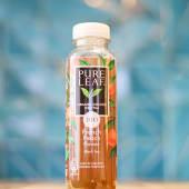 Té frío PureLeaf té negro con melocotón organic (330 ml.)