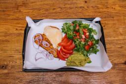 Grillowany kurczak z guacamole