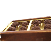 Caja de trufas surtidas (1/2 Kg.)