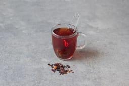 Czarny bez / Black elderberry with rosehip and raspberry M 360ml