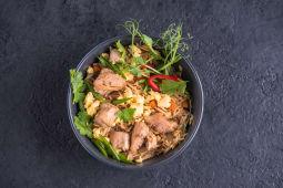 Рис wok з качкою