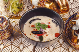 Tom Kah Soup with rice