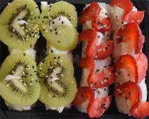 A21 Sandwich de Morango e Kiwi 16 Peças