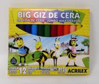 Crayones Colores Jumbo Jgox12Un 9111.3