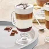 Latte z białą czekoladą i wiśniami na winie 200ml