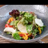 Салат Моцарела з мікс-салатом (300г)