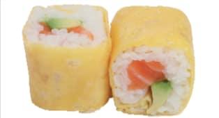 Egg saumon avocat x6