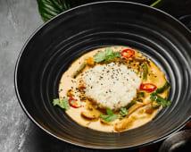Овочі карі з рисом (210г)