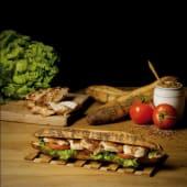 Sandwich pavot poulet