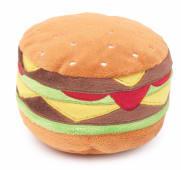 Peluche sonore Hamburger