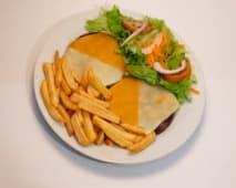 Hambúrguer em Travessa Simples