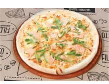 Піца з лососем та крем-сиром (260г)