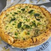 Pizza americana de vegetales