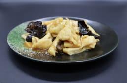 306. Pollo funghi  e bambù