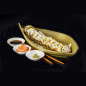 Futomaki tempurizado chicken roll