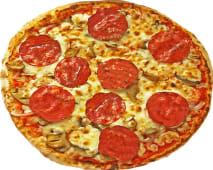 Pizza tuto salami