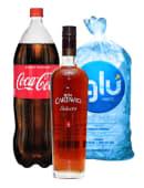 Cartavio 5 Años 750 Ml + Coca Cola 1 Lt + Hielo 1.5 Kg