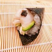 Temaki de pez mantequilla (1 ud.)