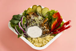 Vegan Pastrami Bowl