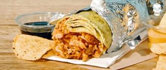 Burrito mexican sausage