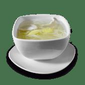 Caldo de pollo con kion