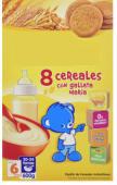 Papilla +6m 9 cereales con galleta María