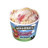 Tarrina Ben & Jerry's strawberry cheesecake (100 ml.)