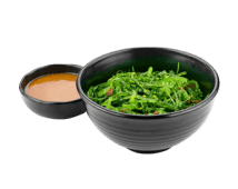 Салат из морских водорослей с ореховым соусом (100/40 г)