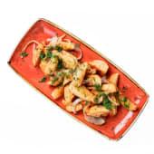 Картопля по-селянськи зі смаженою цибулею (250г)