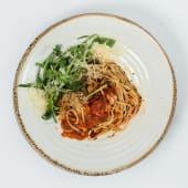 Паста з креветками у томатному соусі (350г)