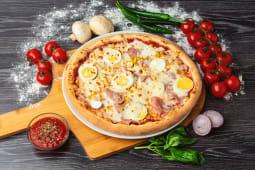 Pizza Bismarck medie