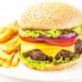 Plat Hamburger + frites