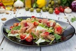 Салат з баликом