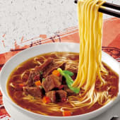 Sopa De Ramen Chino Con Costilla