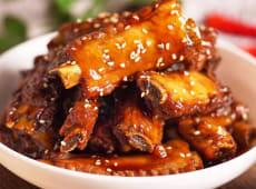 49. Costilla con salsa agridulce estilo Shangai