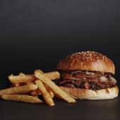 Bacon Pork + Papas fritas