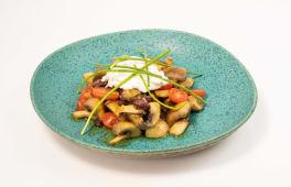 Taça Beans and Mushrooms