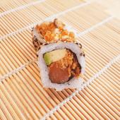 Crazy salmón roll (8 uds.)