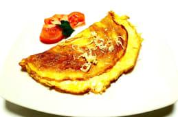 Omlet sa sirom