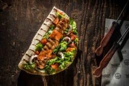 Adana kebab lipie