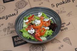 Фреш салат з лососем (180г)